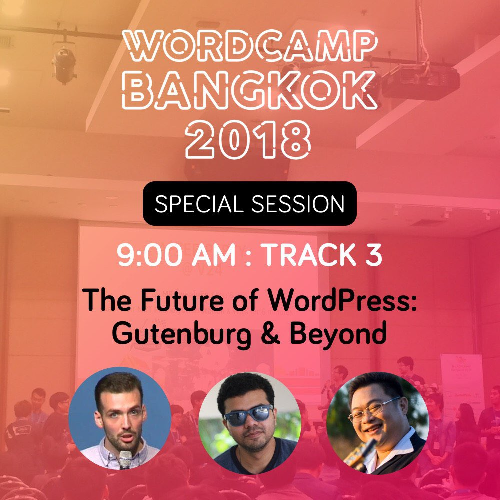 test Twitter Media - At Track 3, We're talking about The future of WordPress with @obenland and @Asif2BD #wcbkk https://t.co/iHL8pYMKdl