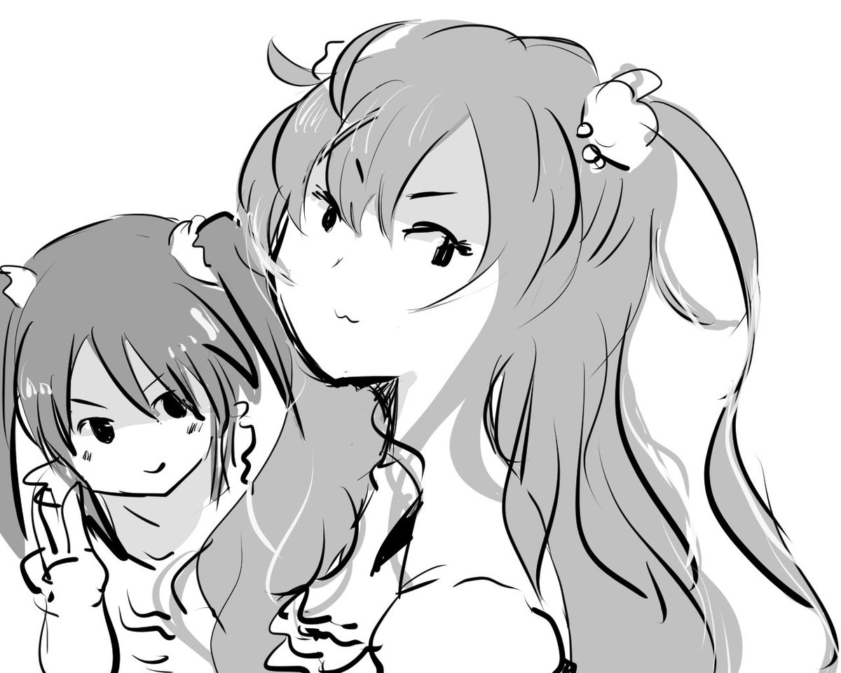 志希ちゃんと中野。