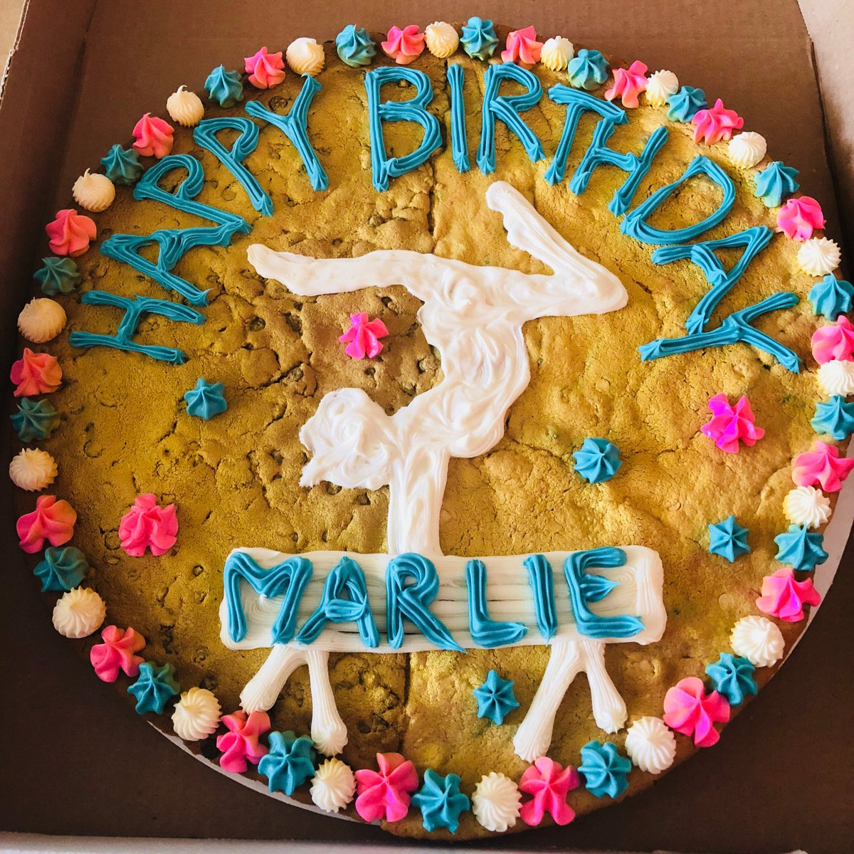 Groovy Shugs On Twitter What A Cute Cookie Cake For Sweet Marlie We Funny Birthday Cards Online Alyptdamsfinfo