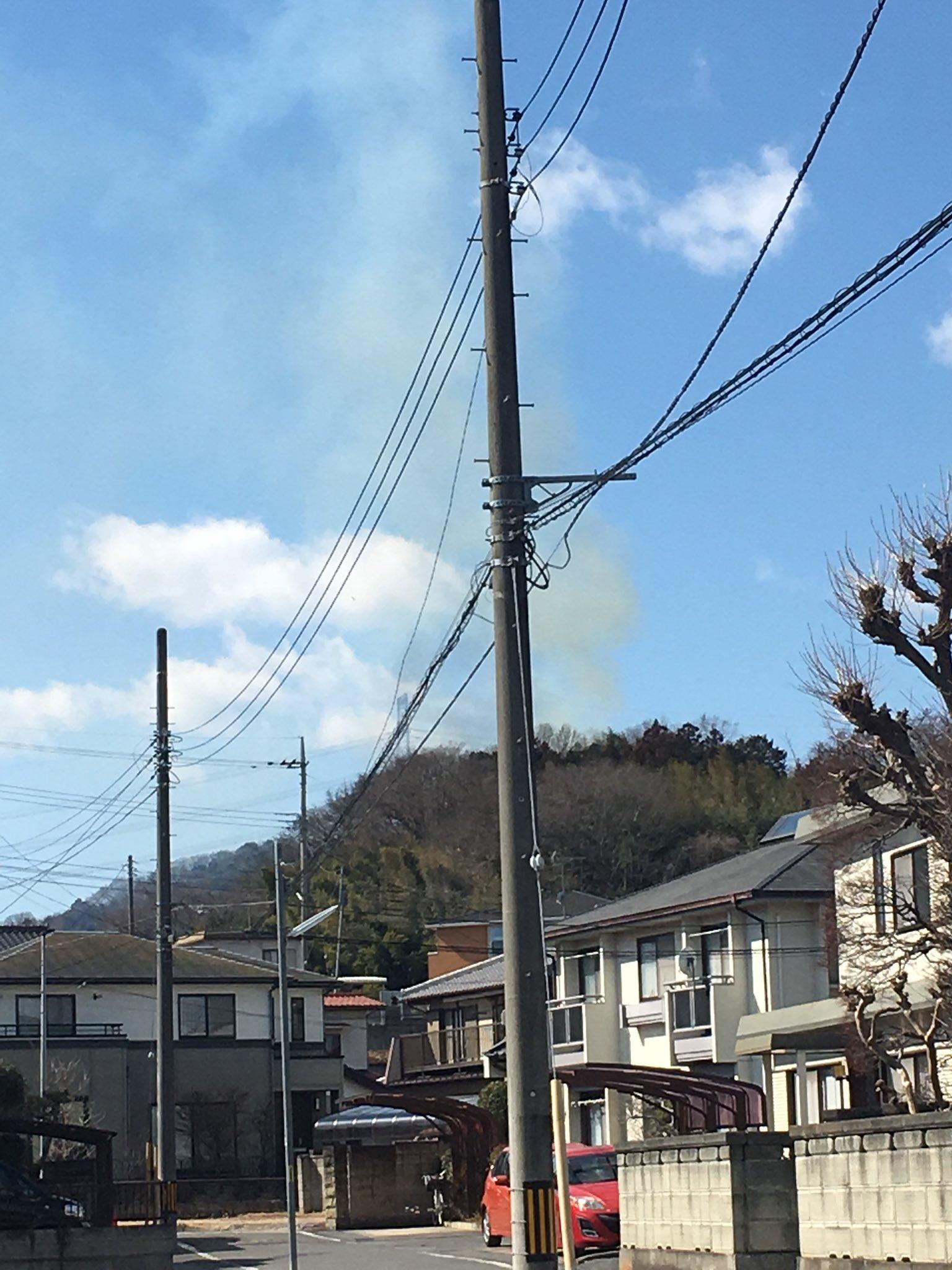 画像,のつけで山火事やばい!!消防車とパトカーのサイレンがメッチャやばい!!!竹が燃える音がはんぱなかった!!すごすぎる!! https://t.co/53h30q6…
