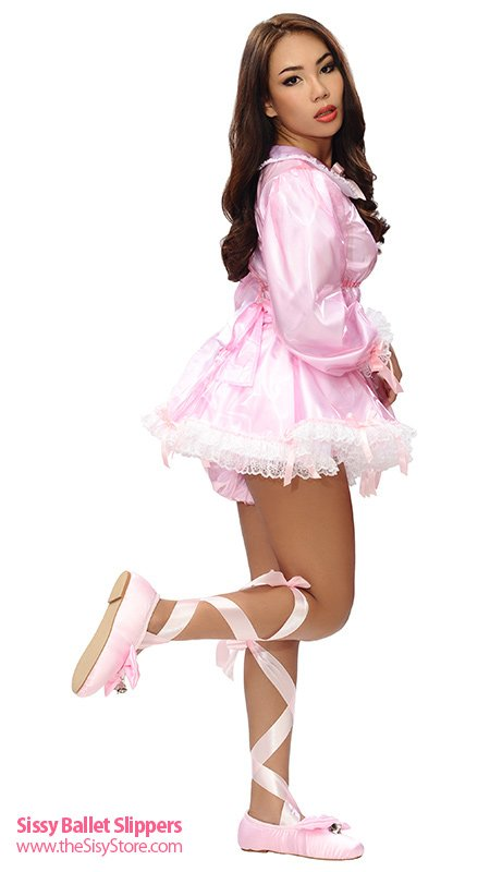 Sissy Ballet Slippers #sissyshoes #abdl...