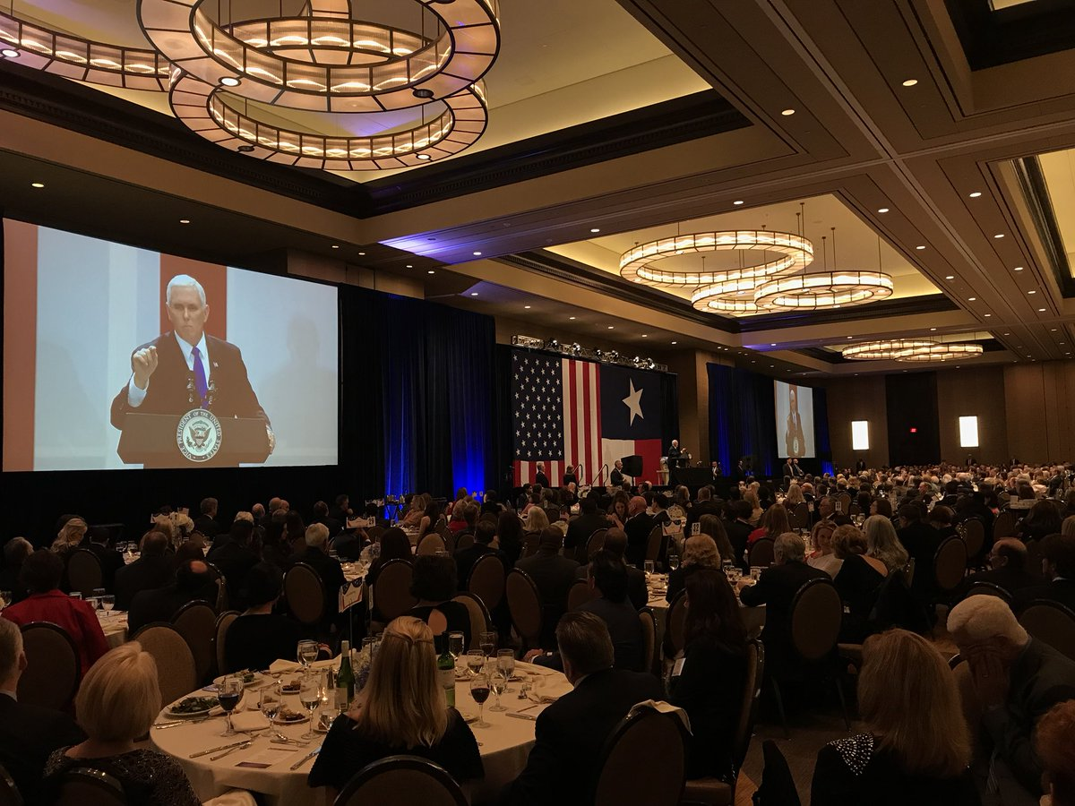 Big night. Largest-ever Dallas County GOP Reagan Day Dinner. As I told the crowd, under President @realDonaldTrump: Promises Made, Promises Kept! America is back and we're just getting started!
