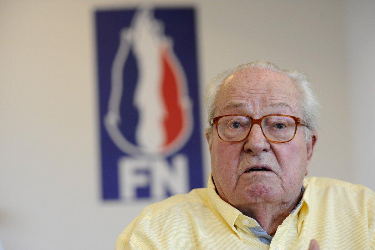 Front national : changer le nom du parti, 'une trahison' pour Jean-Marie Le Pen > https://t.co/gVfsilmYz2