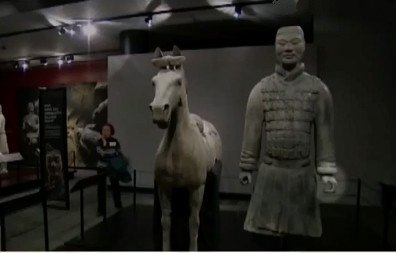 FBI says a US man stole the thumb of a 2,200-year-old Chinese terracotta warrior statue being displayed at the Franklin Institute