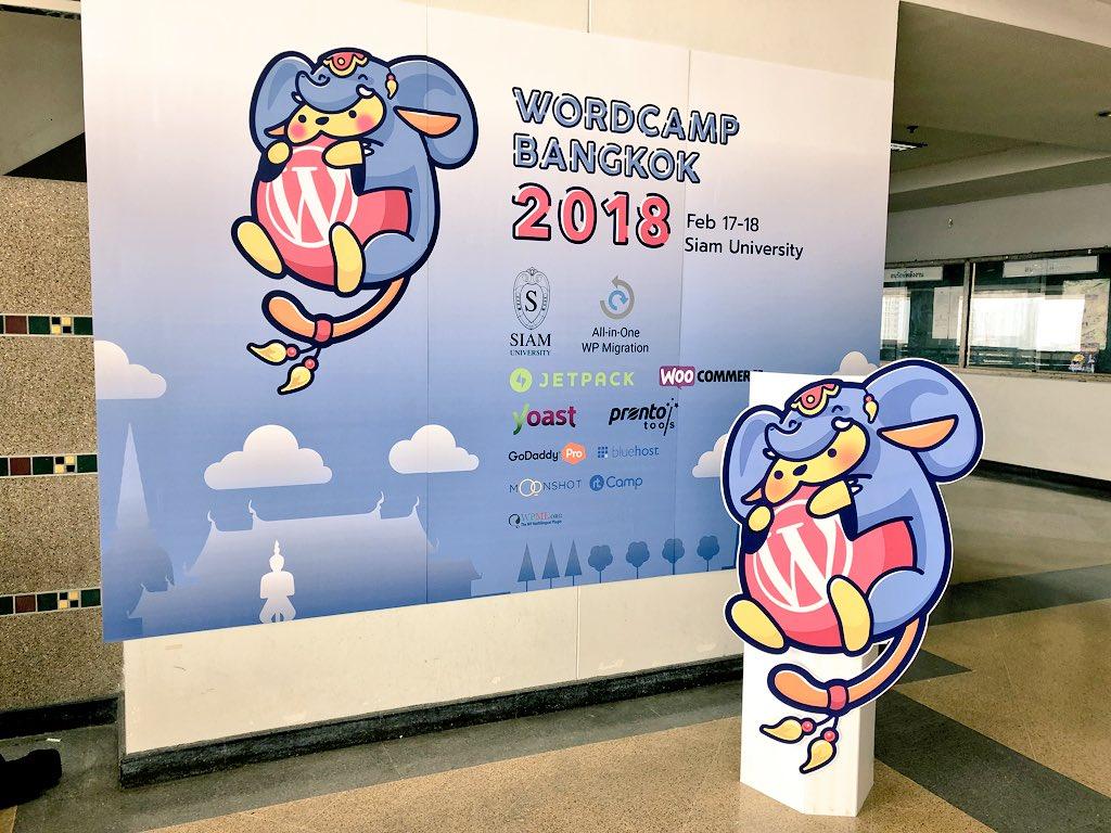 test Twitter Media - #WCBKK happening!  @WordCampBKK #WordCampBangkok #WordCamp #WordPress #Thailand https://t.co/jbmXUI07at