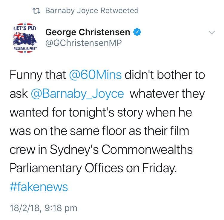 So Barnaby didn't enjoy Malcolm's appear...