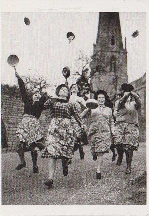 Justin and Brian miss the fun #thearchers #pancakerace