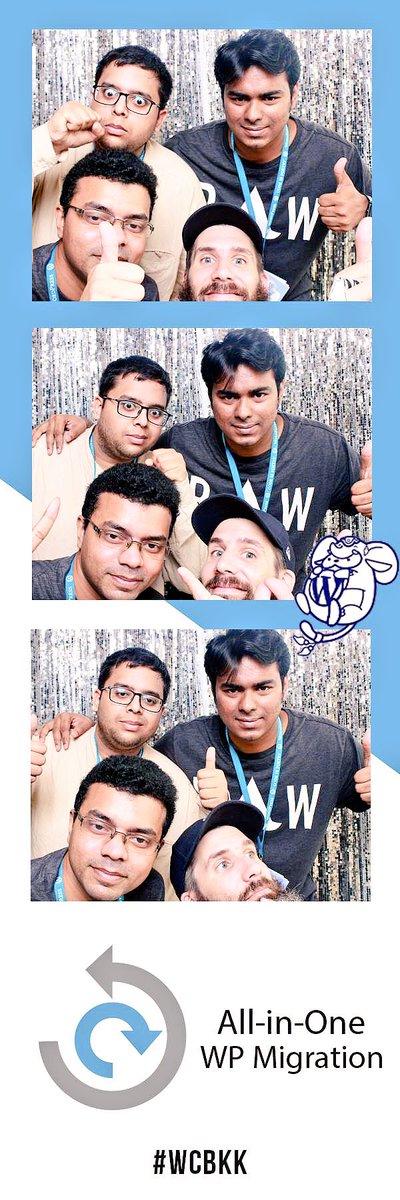 test Twitter Media - Fun time in #PhotoBooth at #WCBKK by All-In-One WP Migration! @WordCampBKK #WordCamp #Y2KPhotoSticker #WordCampBKK https://t.co/xlOagURp4Y