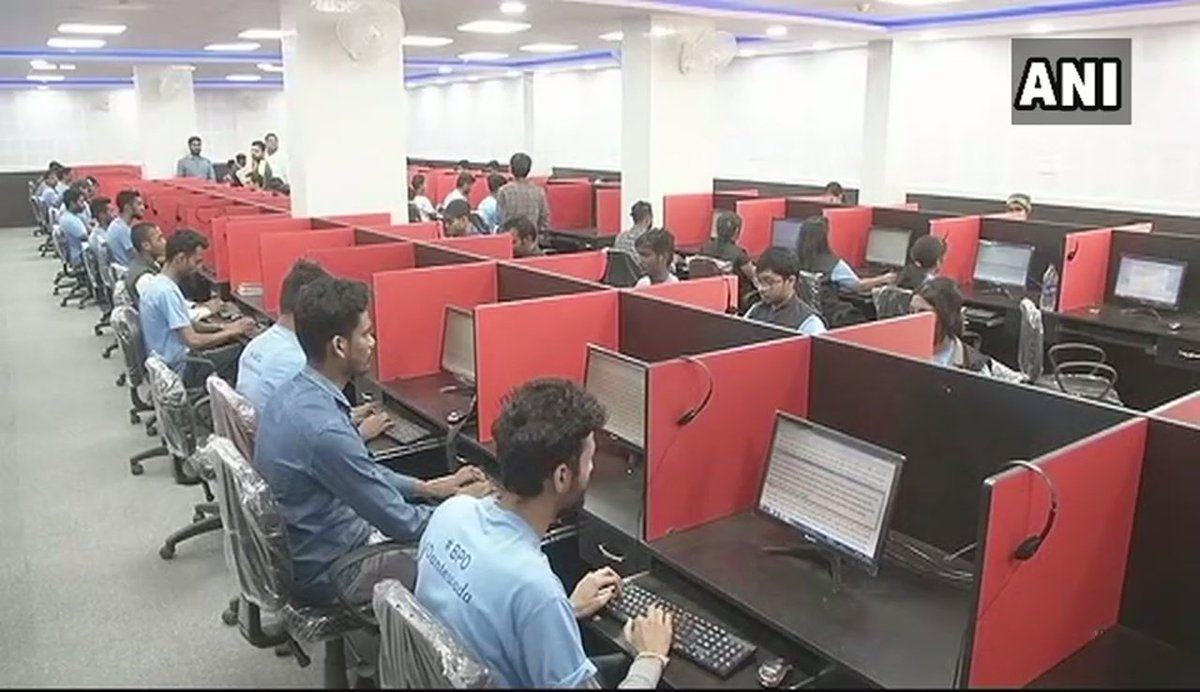 Chhattisgarh: State's largest BPO Call Center opens in Dantewada, 480 youth undergoing training at the center.