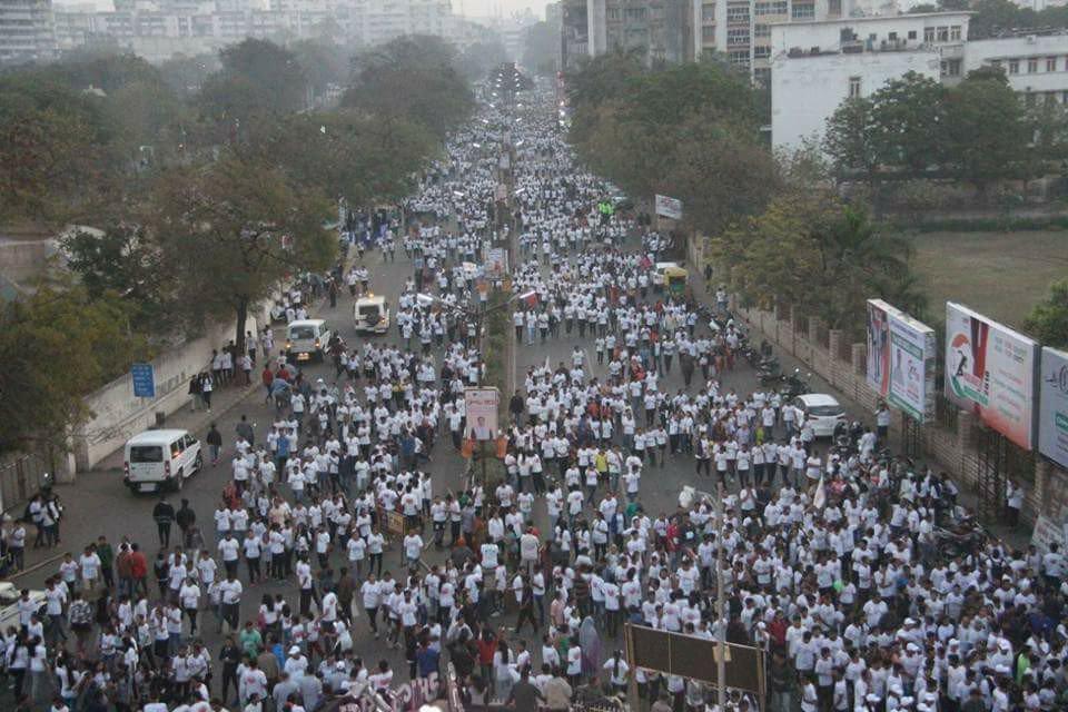 Thousands participate in Rajkot Marathon 2018