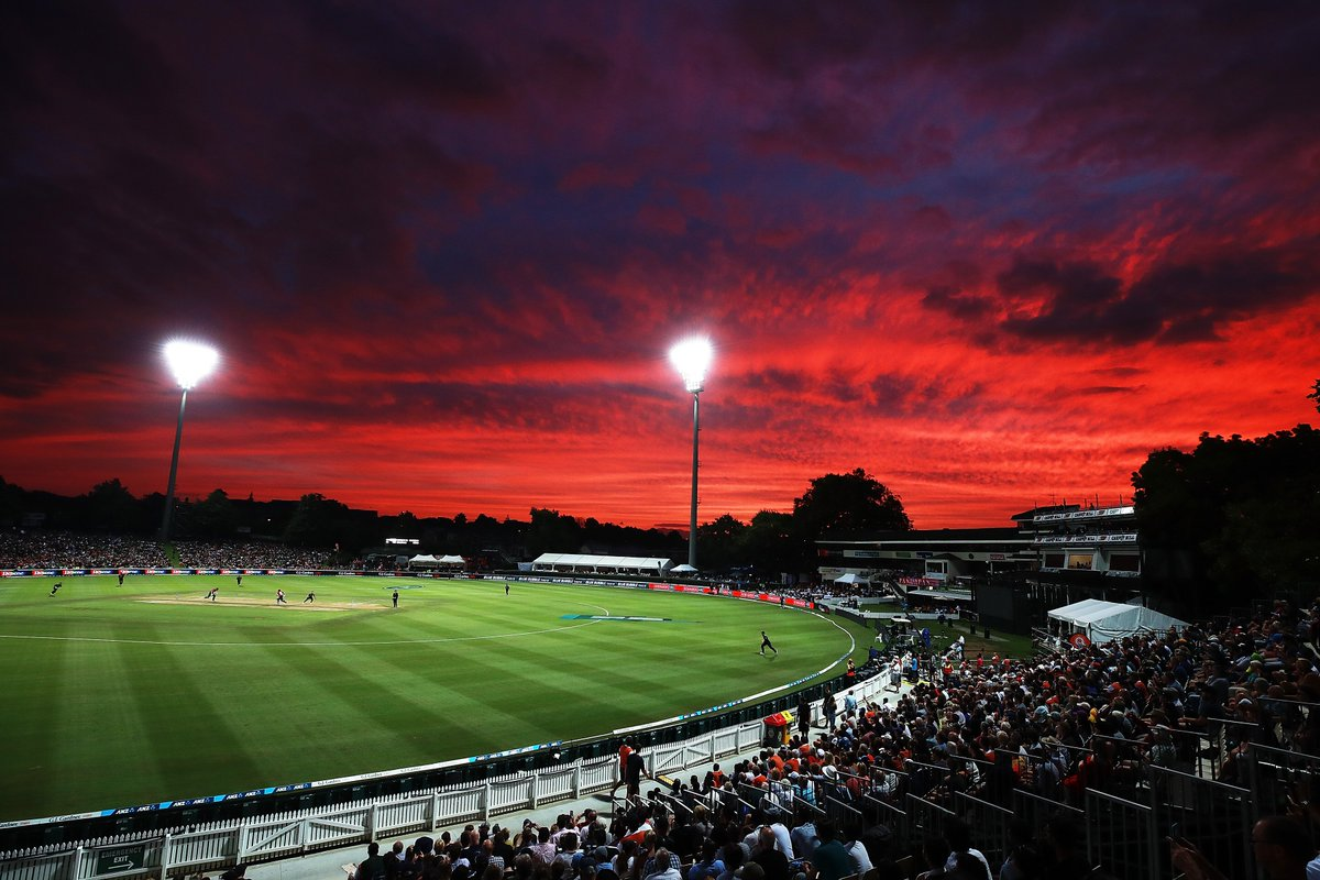 Wow, that sky...  #NZvENG #bbccricket ht...