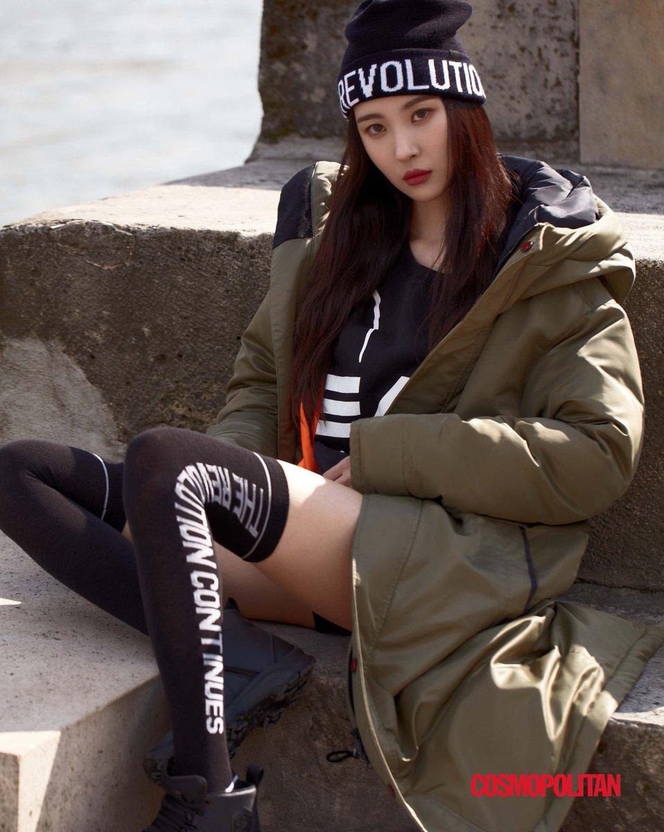 Watch Lee sunmi photoshoot for head sports fall winter 2019 video