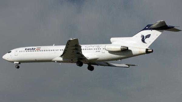 تحطم طائرة تقل 100 راكب جنوب #أصفهان #إي...
