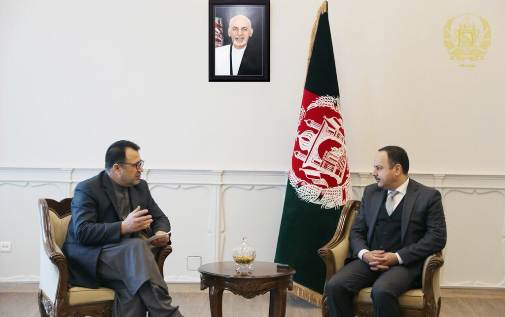 I met Governor of Nangarhar province to talk about development projects.