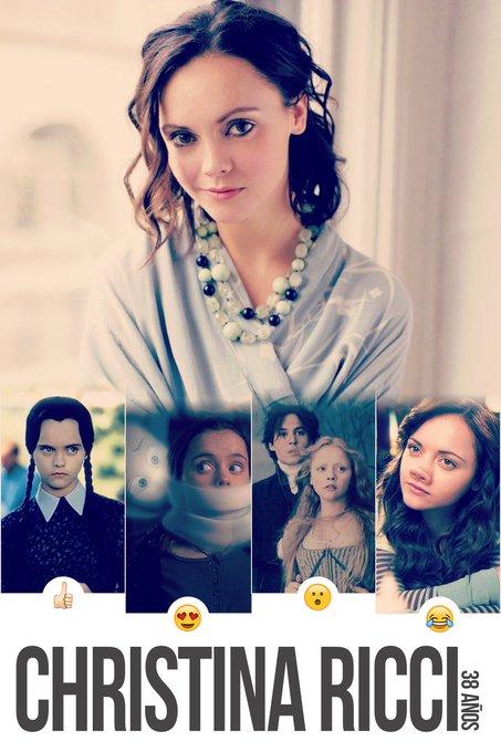 Happy Birthday Christina Ricci!  celebrating this month.   loves actresses