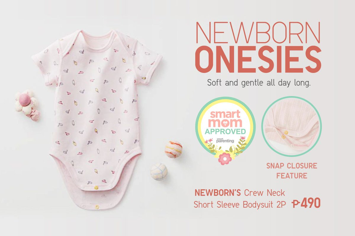 e3f5a46a4 Made from 100% cotton ribbed material, our Newborn Crew Neck Short-Sleeve  Bodysuit also features more fresh and fun designs for Spring and Summer!