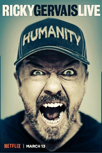 3 weeks before you can watch #Humanity on Netflix.