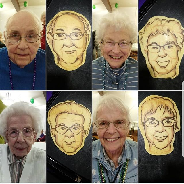 Good morning everybody! We wanted to start your day with some happy pancake faces made for some happy people. Events like this are really fun and gratifying to do, most of these folks went their whole lives not seeing their face as a pancake 😁🤗 🥞 mad… ift.tt/2CthWKF