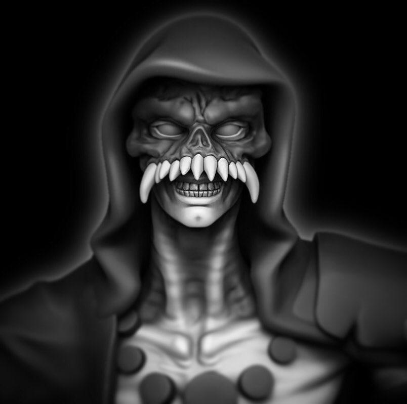 Clint On Twitter Smile Monster Creature Rpg Dnd