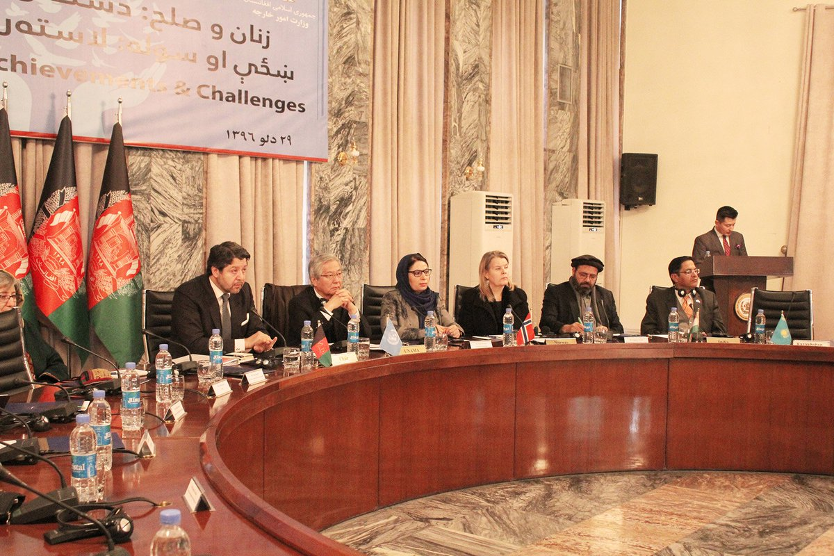 Foreign Ministry Convenes Inclusive Interaction on Women & Peace As Kabul Process Meeting Nears go.mfa.af/1b12
