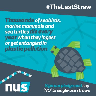 Great #thelaststraw graphics from @nusuk Use them at your uni