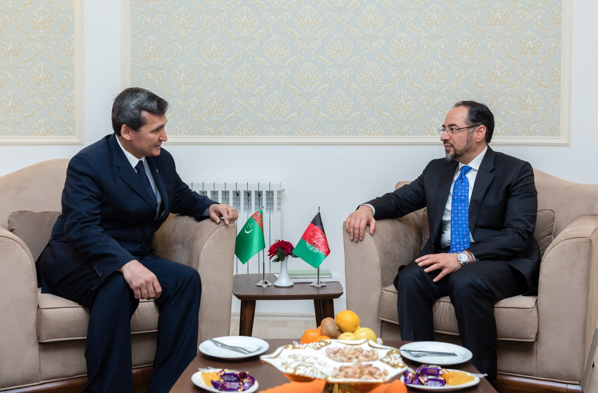 Minister of Foreign Affairs Meets With His Turkmen Counterpart go.mfa.af/3b53