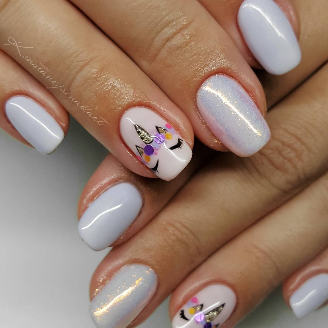 Semilacuk On Twitter We Love A Good Set Of Unicorn Nails Tag In