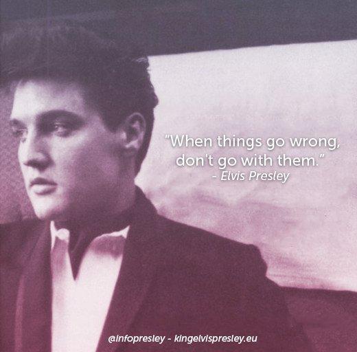 King Elvis Presley's photo on #WednesdayWisdom