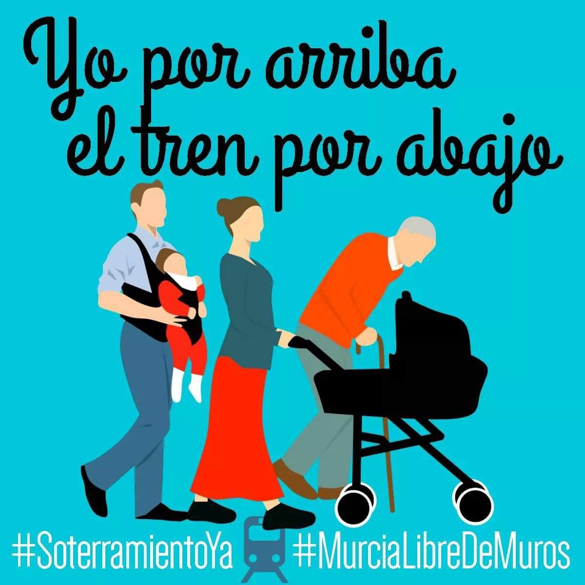 Queremos la ciudad de Murcia, libre de M...