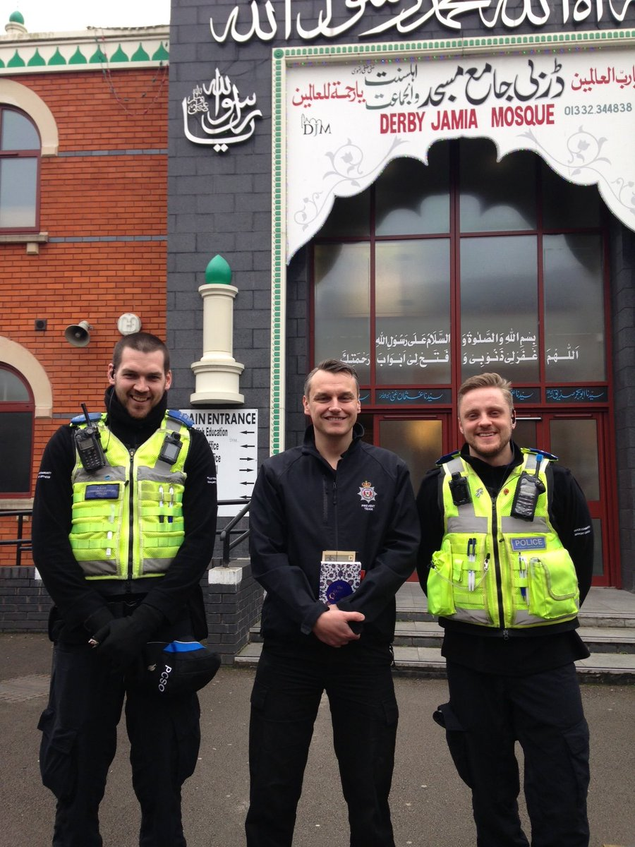 More pics from #VisitMyMosque today Thank you @DerbyJamiaMosq for being so welcoming 😀