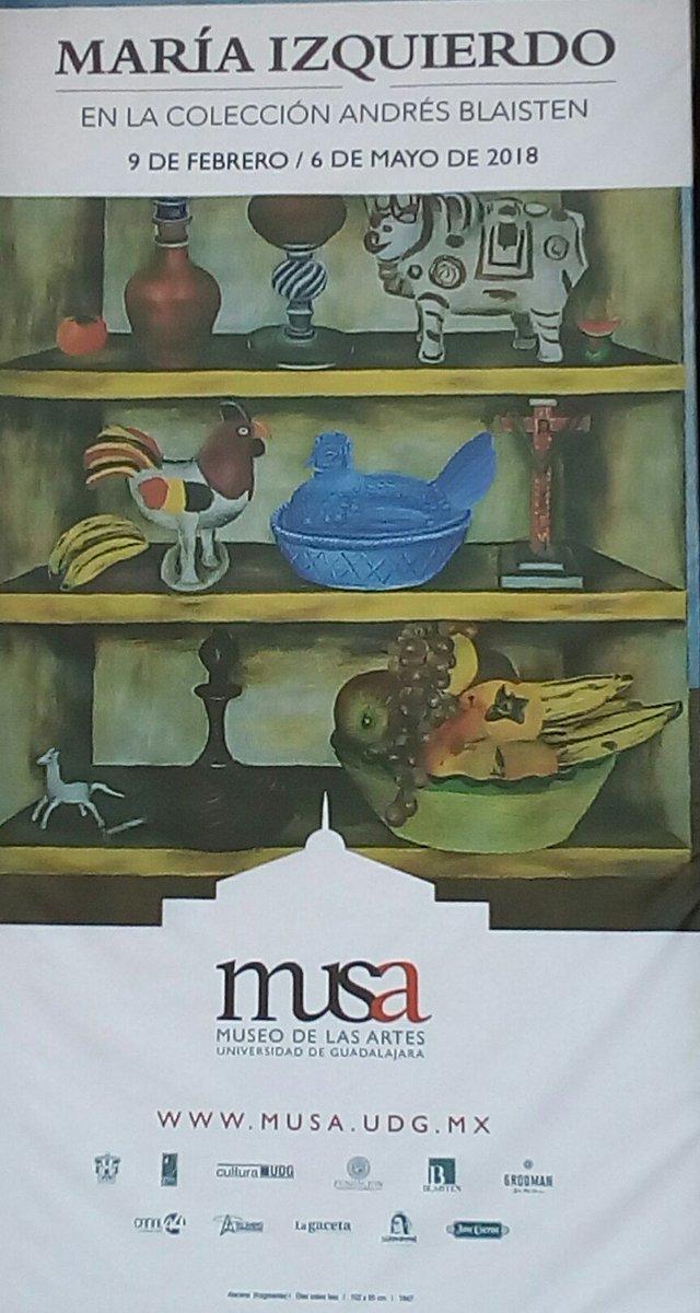 MARIA IZQUIERDO en el Museo de las Artes...
