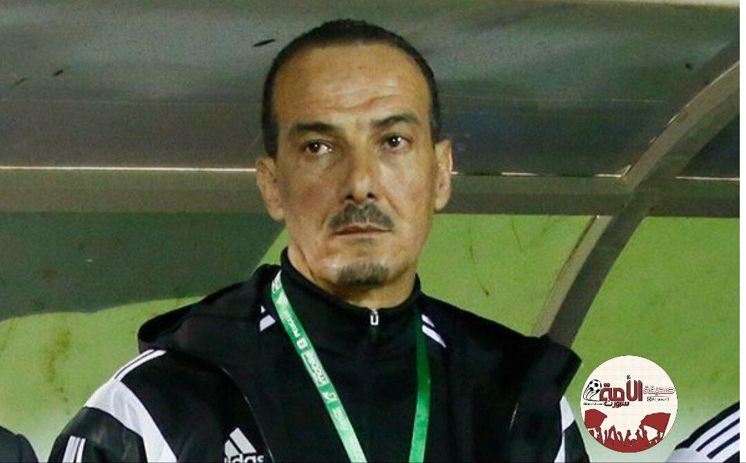 إقالة نبيل نغيز من تدريب أحد -  https://...