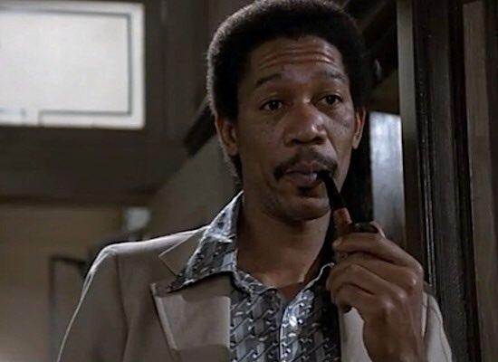 Young Morgan Freeman, RT for good luck.