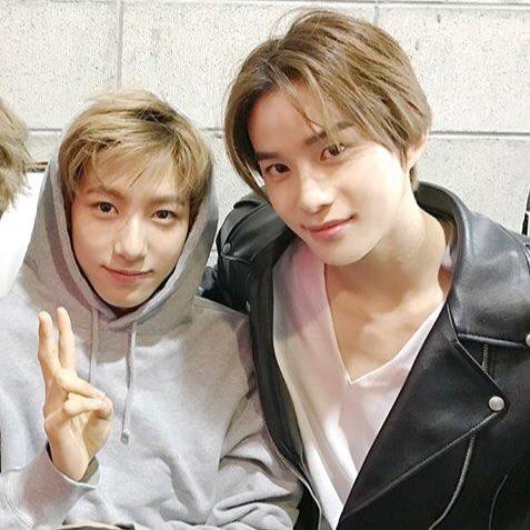 renjun with jungwoo (2018) #HappyJungwoo...