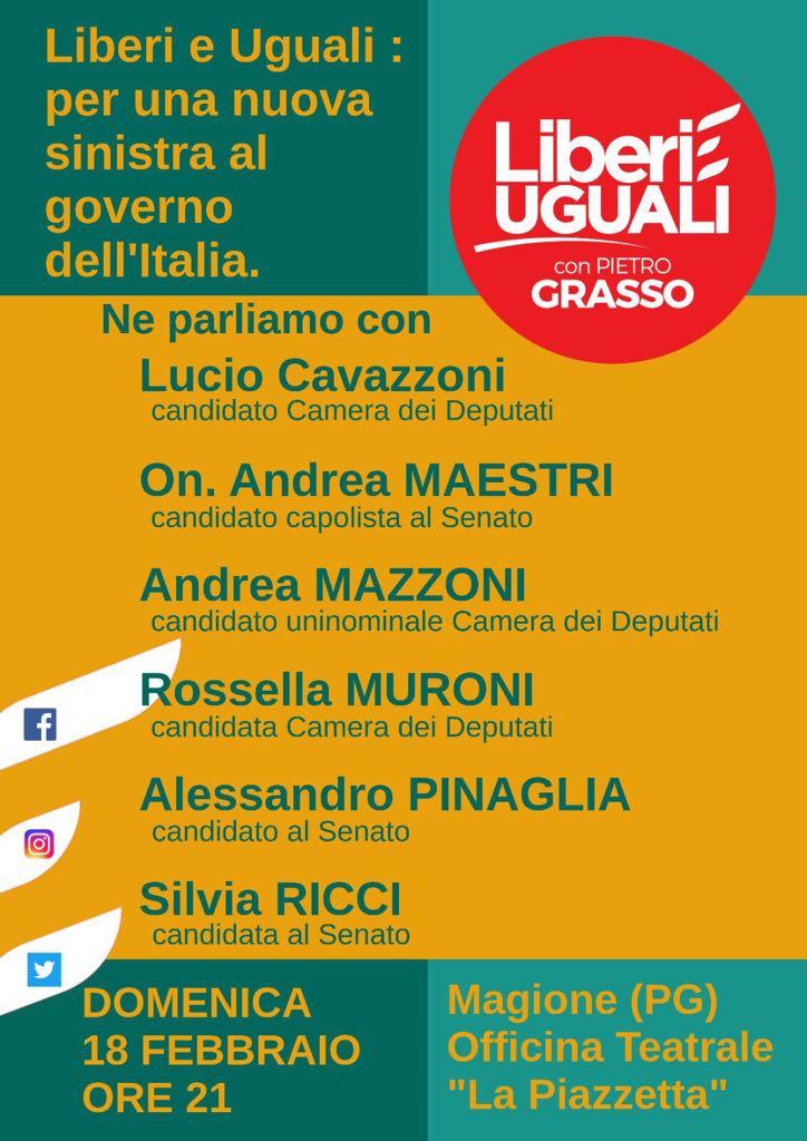 Tra poco a Magione #Umbria parliamo dell...