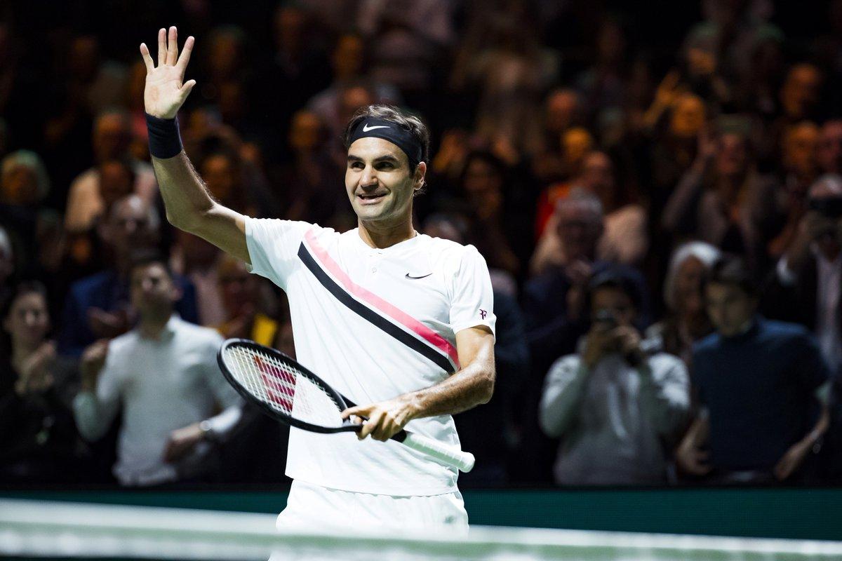 test Twitter Media - #tennis #RotterdamOpen   Roger Federer remporte le 97ème titre de sa carrière en écrasant Grigor Dimitrov 6-2 6-2 ! https://t.co/vMpGTTpTx4