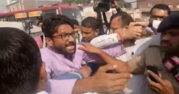 Dalits hold angry protests across Gujarat, Mevani detained