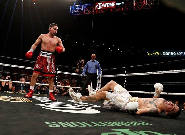 ��#Boxeo | Danny Garcia noqueo a Brandon Rios en Las Vegas ➡️ https://t.co/bp0XQ1nqA8 https://t.co/KkY6K7yJtg