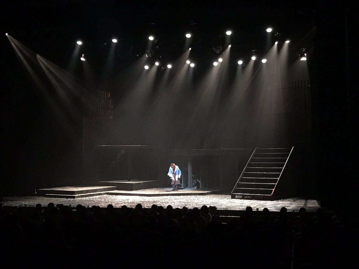 【東京公演終了】東京公演は無事全公演終了いたしました。沢山のご来場、誠にありがとうございました!もののふ最後の銀河劇場でした。次は大阪公演…!大阪公演は2/23〜25まで!#かけ隼