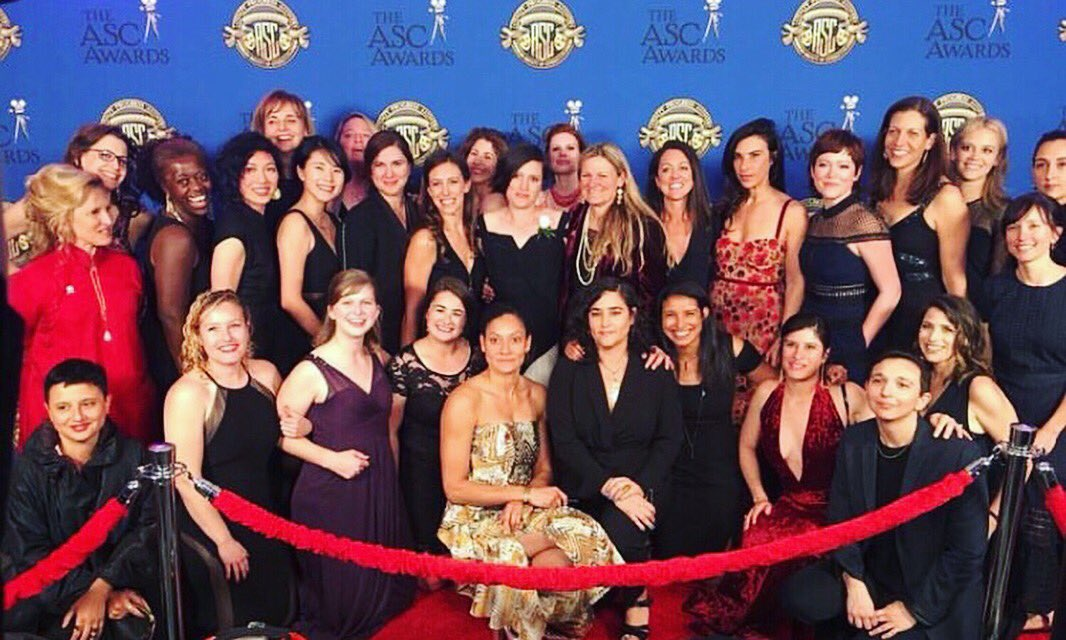 How many DPs can you fit on the red carpet? Turns out, quite a few! . #ASCAwards #cinematography #asc