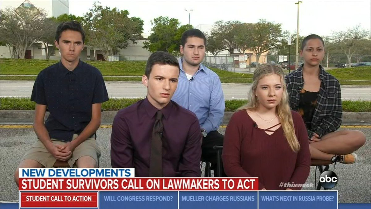 Florida teen shooting survivors announce 'March for Our Lives' demonstration in DC https://t.co/ELaKBU4o99