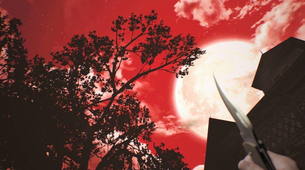 love the red night sky in Resident Evil 7 Biohazard @RE_Games #RE7 #EthanMustDie #Dlc #XboxOne #4K