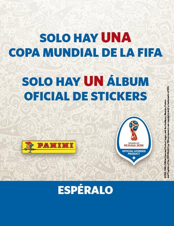 El conteo regresivo ya comenzó, pronto llegará el álbum oficial de la #FIFAWorldCup. https://t.co/b31LJmLIj4