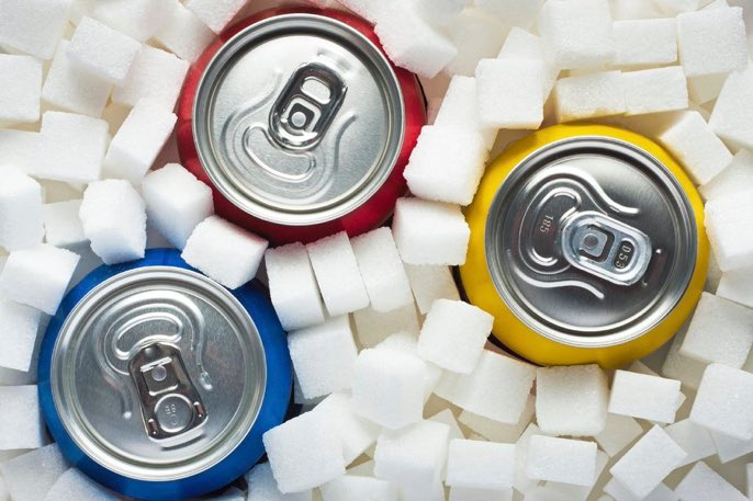 People who drink sugary sodas have earli...