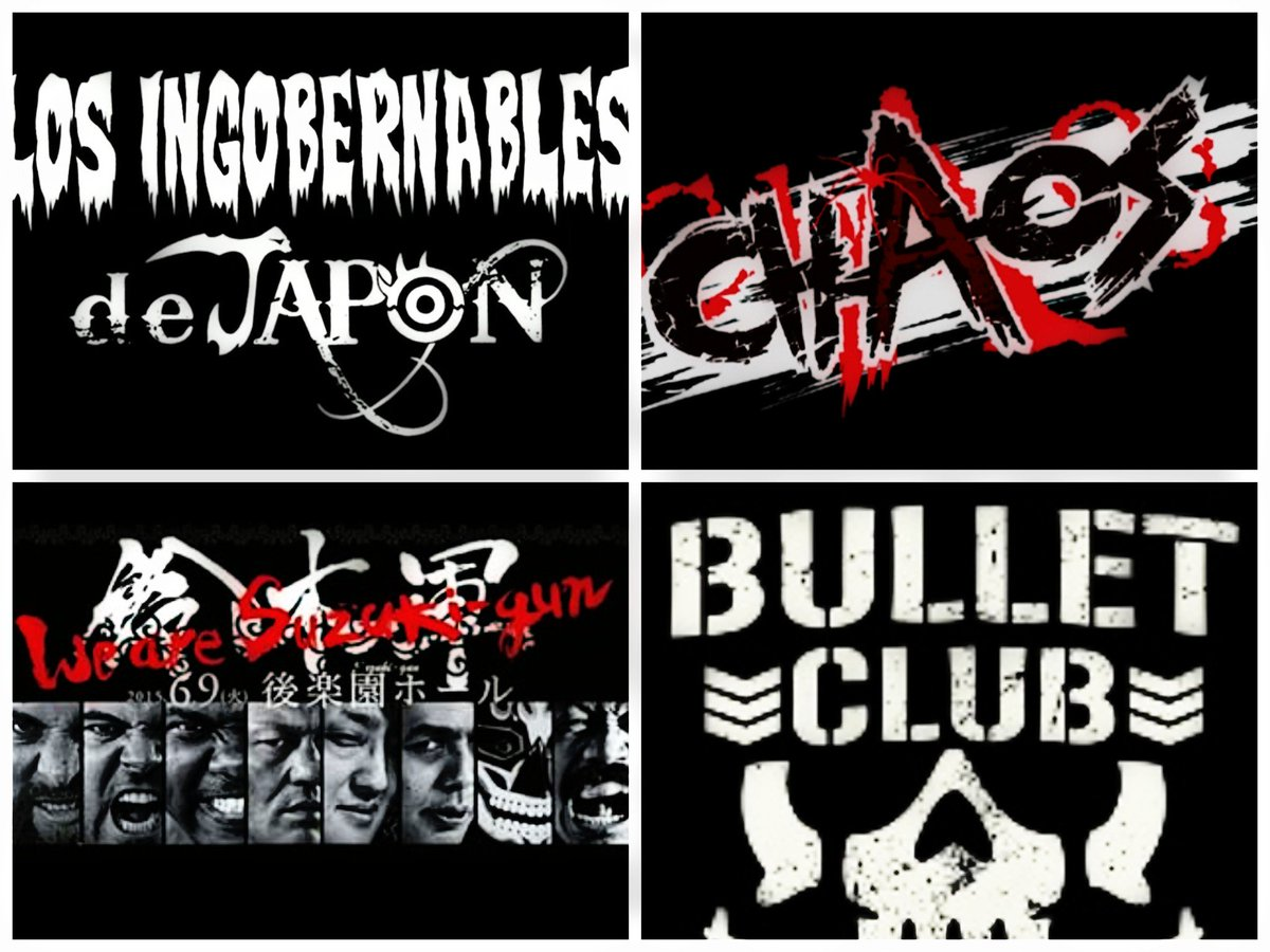 What's your favorite faction in @njpw197...