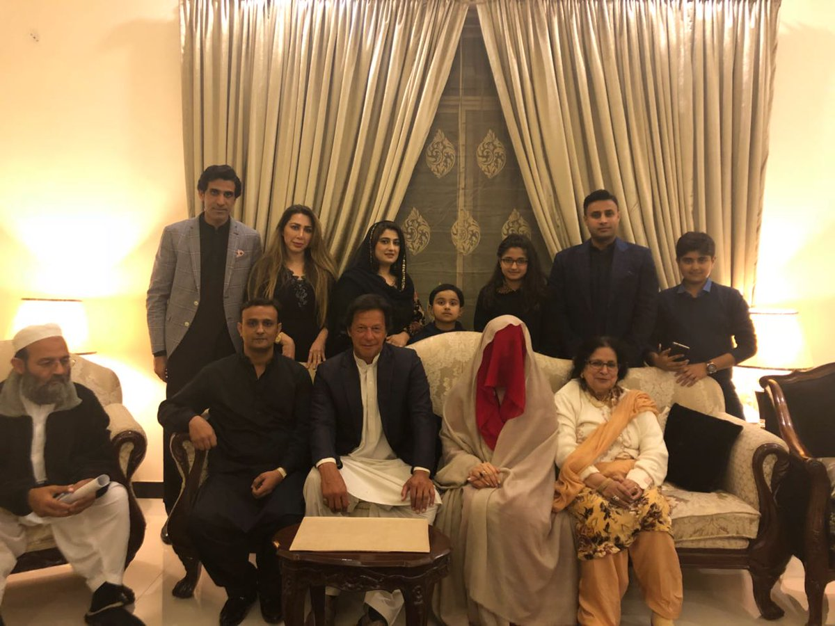 I congratulate my leader and pray for his happiness on this new journey of his life ! #MubarakImranKhan