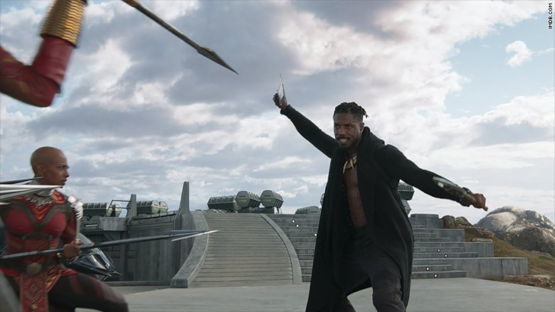 'Black Panther' brings in a record-breaking box office weekend https://t.co/iA2qQf7Jln