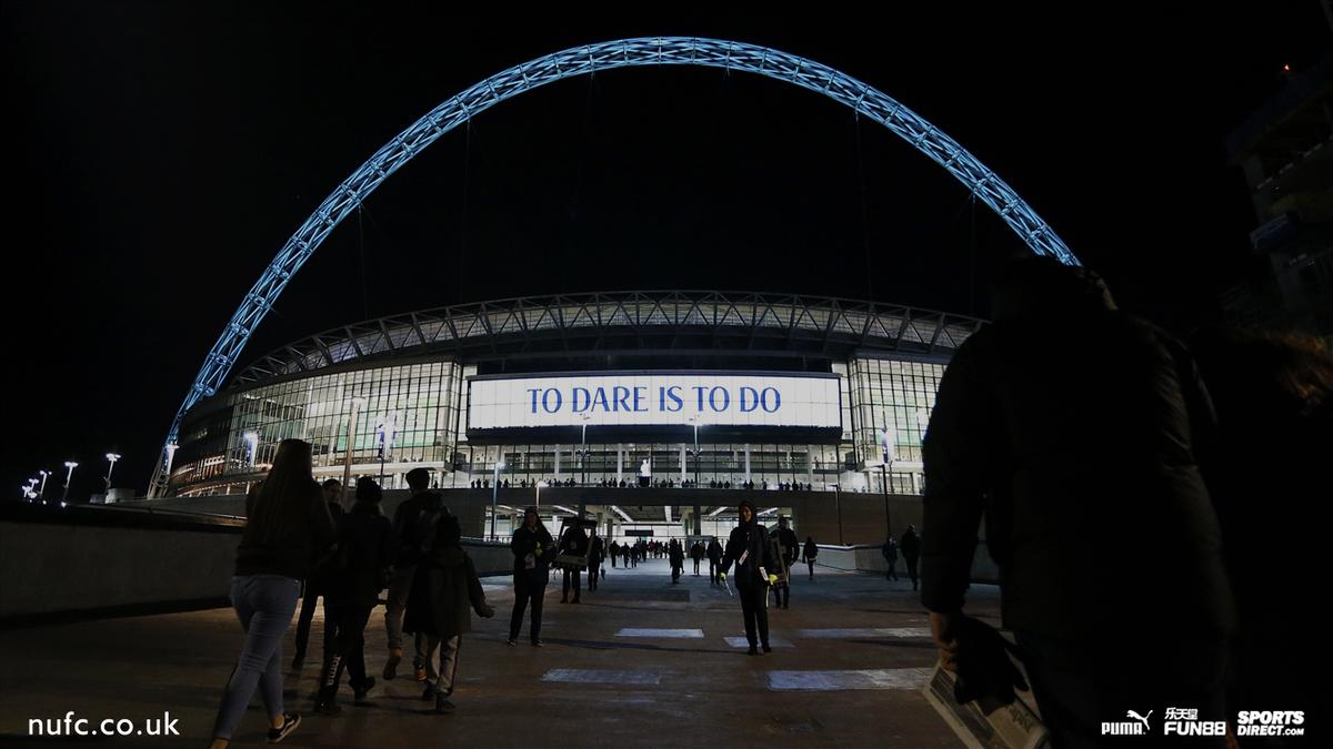 Newcastle United FC's photo on Wembley