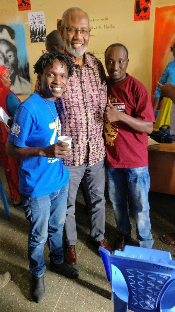 Gacheke Gachihi On Twitter With Comrade Abdulatif Abdala The First KPU Detainee And Jaramogi Odinga ComradeMathareSJustice Chindykenn KenyanMwangi