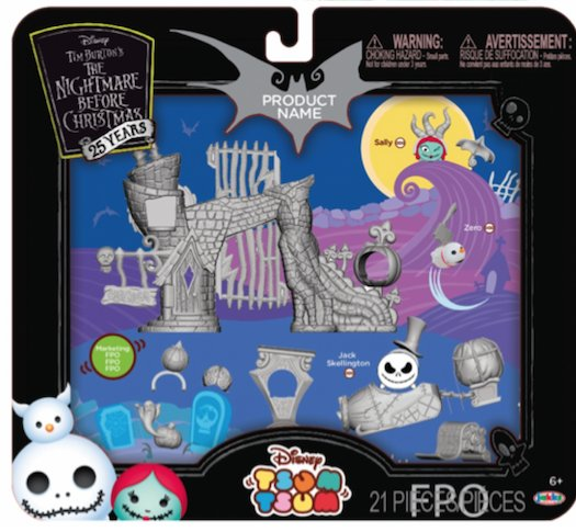 disney tsum tsum on twitter new nightmare before christmas 25th anniversary set to be released this fall httpstcop7pujbcefa - Why Is Christmas On The 25th